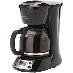 Betty Crocker BC-2825CB 12-Cup Coffee Maker, Black