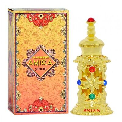 Amira  Gold  Arabian Perfume Oil Attar By Al Haramain 12Ml