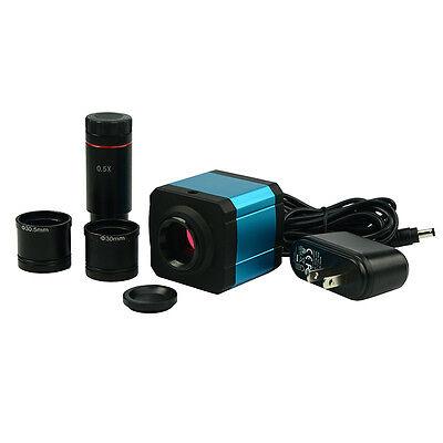 Usb Hdmi 14mp Microsocpe Digital Camera Electronic Eyepiece W 0.5x C-mount