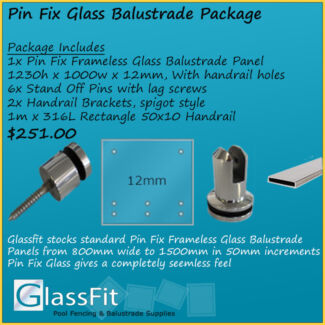 Frameless Glass Balustrade - Pin Fix - All Components -Engineered Yatala Gold Coast North Preview