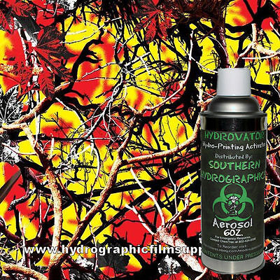 Hydrographic Film Water Transfer Hydro Dip 6oz Activator With Forest Blaze Kit