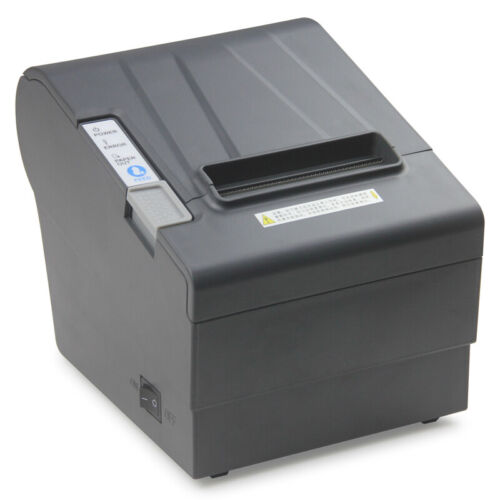 "POS Thermal Receipt Printer 80MM 3 1/8"" USB+Serial/RS232+Ethernet/LAN autocutter"