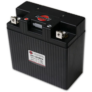 LITHIUM SHORAI BATTERY FOR MOTORCYCLES AND ATVS LFX27A3-BS12