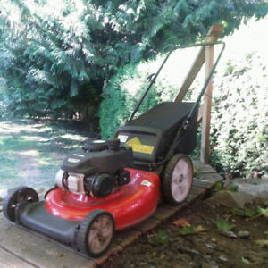 Gas Lawn mower for sale. Just bought it this spring, like new!