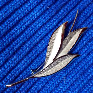 Bond Boyd Vintage Sterling Leaf Brooch in E.U.C.