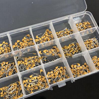 450pc 15value 10100uf Ceramic Disc Capacitor Dip Monolithic Mlcc Assortment Kit