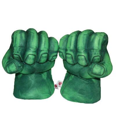 The Hulk Gloves (The Hulk Incredible Hulk Smash Hands Fist Boxing Plush Gloves)