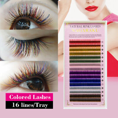 Best Lashes Hot  Mink Hair Nature Eyelash Extensions 1 Box