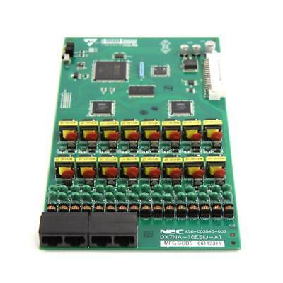 Nec Dsx 80 160 16-port Digital Station Card Dx7na-16esiu-a1 1091004 1yr Warranty