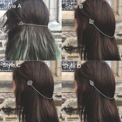Mittelalter Nordische Haarnadel Retro Haarspange für Frauen Kopfschmuck Zubehör