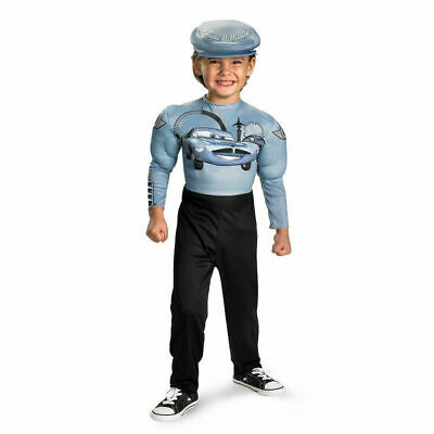 Disney Finn McMissile Boys Halloween Costume Size Small 4-6 NWT