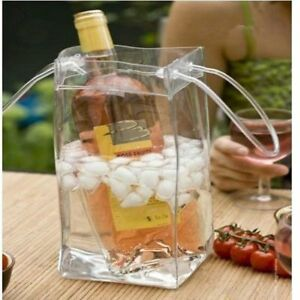 Wine Beer Champagne Bucket Drink Ice Bag Bottle Cooler Chiller Travel Carrier