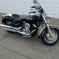 2011 Yamaha V-Star 1100 Special edition. Only $169.00 per month