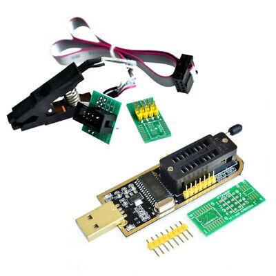 Sop8 Test Clip Eeprom 93cxx 25cxx 24cxx Ch341a Flash Bios Usb Programmer Module