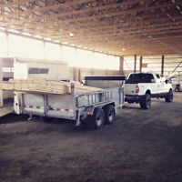 HARD WORKING GUY WITH TRUCK & TRAILER AVAILABLE FOR HIRE