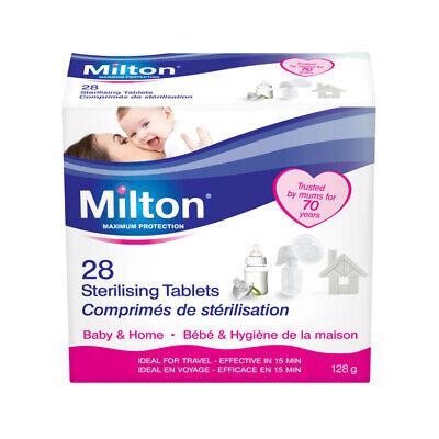 Milton Sterilising Tablets Baby Feeding Sanitising Antibacterial & Germs Cleaner