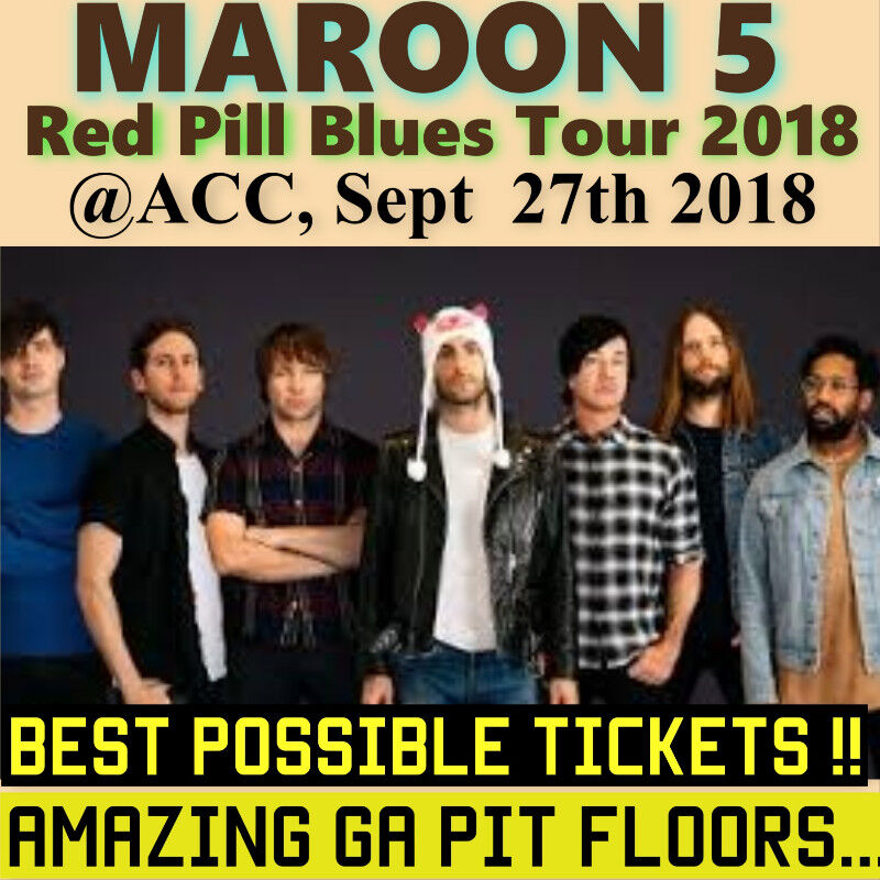 Maroon 5 acc best possible tickets amazing ga pit floors more ticket type concert tickets m4hsunfo