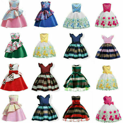 Gowns For Kids (Girls Ball Gown Dress Wedding Princess Bridesmaid Party Prom Birthday for)