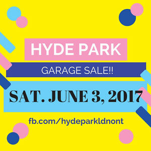 Massive Hyde Park Neighbourhood Garage Sale