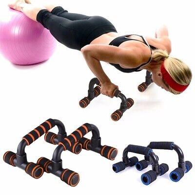 2Pcs Push Up Bars Soportes de espuma para gimnasio en casa y muscular