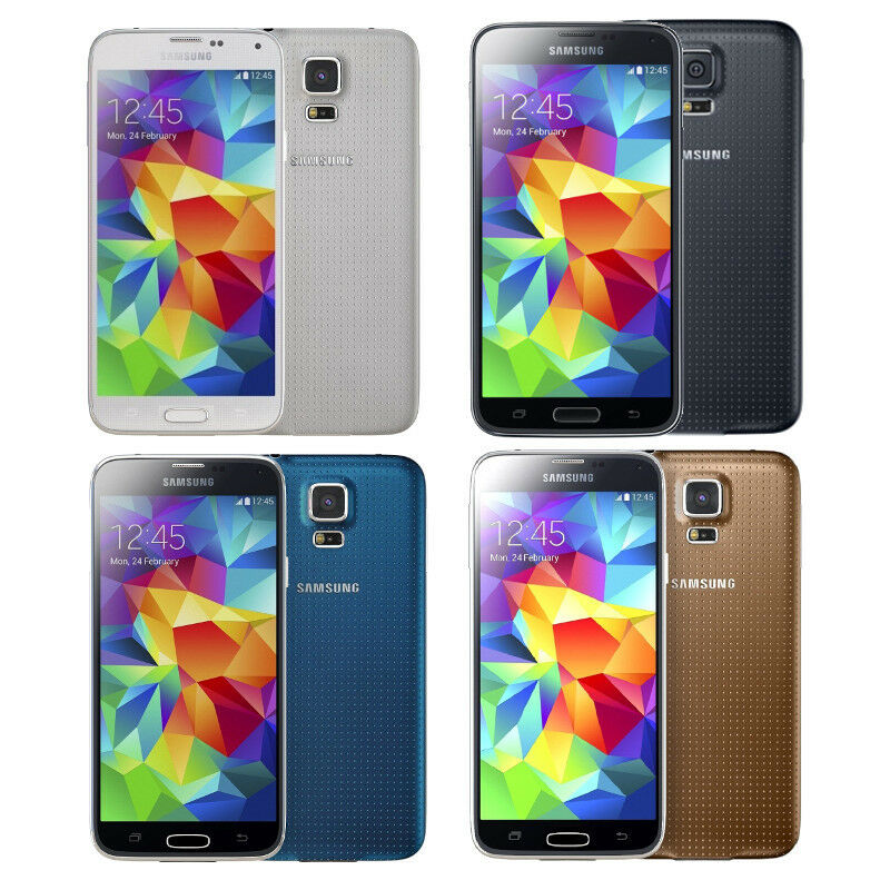 Android Phone - Samsung Galaxy S5 -16GB, 32GB - Unlocked AT&T Verizon Sprint T-Mobile Smartphone