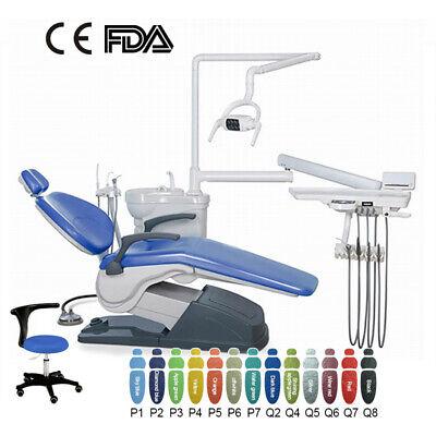 Dental Chair Leather Computer Controlled 110v220v Unit Handpiece Scaler Dentist