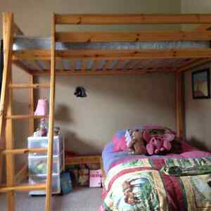 High Loft Twin Bed