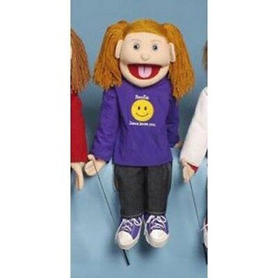 Sunny 28 Strawberry-haired girl/ Smile, Jesus loves you GS4693 Puppet NEW