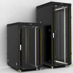 Server Rack Cabinet Enclosure All Size 6U-42U, HQ Accessories