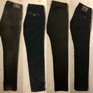 A SELECTION OF ITALIAN DESIGNER MENS PANTS - EXCELLENT CONDITION