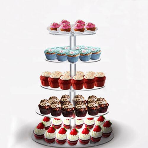 5 7 Etagere Etage Hochzeitstorte Cupcake Stander Party Hochzeit