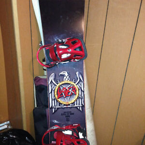 Brand new slayer pat Moore board, size 9 Andy Warhol burton boot