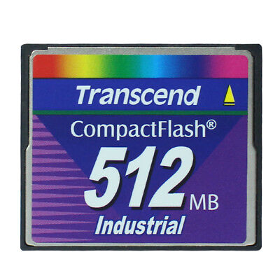 Transcend 512MB Compact Flash Ultra speed Industrial CompactFlash CF memory card