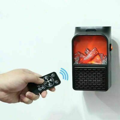 Estufa Eléctrico en la Pared Bajo Consumo Portable 1000W Watts