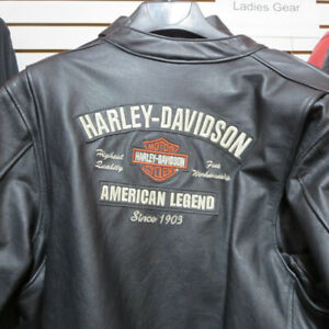 Ladies Harley Davidson Leather Motorcycle Jackets