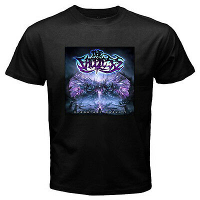 THE FACELESS Planetary Duality Metal Rock Band Men's Black T-Shirt Size S to 3XL