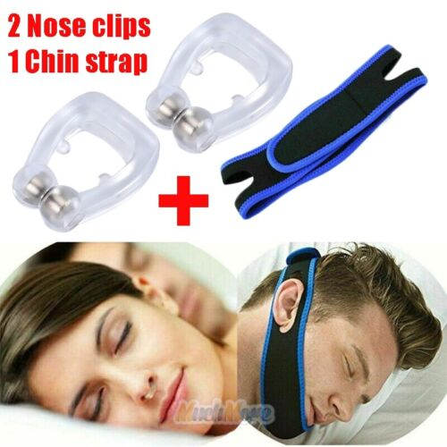 2pack magnetic anti snore stop snoring nose