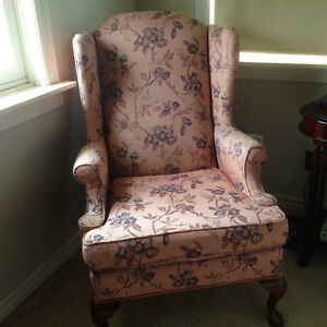Pair of Brentwood Wing Back Chairs