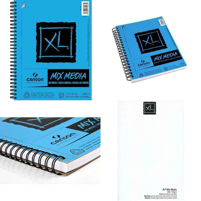 xl series mix media paper pad heavyweight