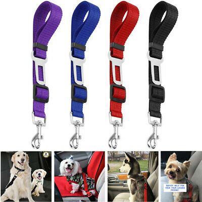 Cat Dog Pet Safety Seat belt Clip for Car Vehicle Adjustable Harness Lead