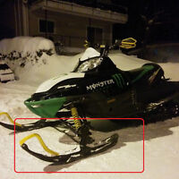 Swap Yellow Ski loops for black or white.