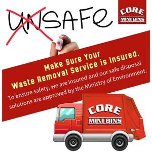 Garbage Bin Rental & Grading Services Ontario Toronto