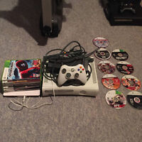 SELLING XBOX 360 WITH TONS OF GAMES 70$