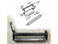 """Metal 14"""" Roller Assembly + Comb for Qualcast Allett Atco Webb 35cm Lawn Mowers"""