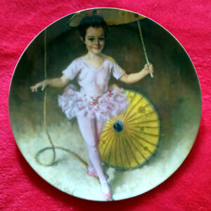 """""""Katie The Tightrope Walker"""" Collector Plate"""