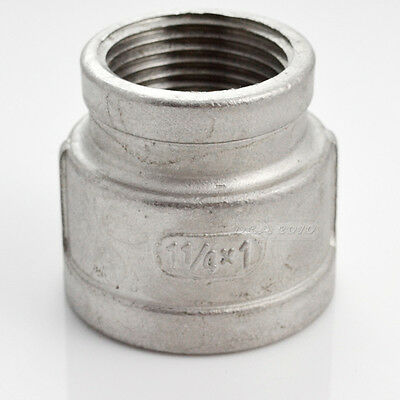 1-14x1female Nipple Threaded Reducer Pipe Fitting Stainless Steel Ss 304