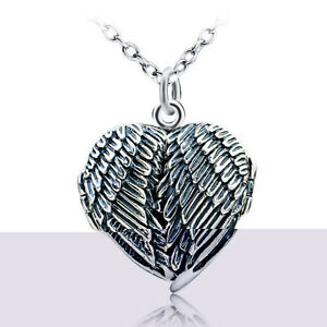 925 Silver Angel Wings and Chain