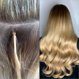 Russian hair Extensions for Nano rings, Tapes at the comfy of ur home