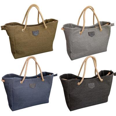 Frauen Multi-Funktions-Leinwand Schulter Cross Body Messenger Tasche Handtasche ()