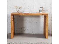Solid wood writing desk - brand new in original packaging